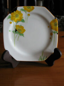 ...A PARAGON FINE CHINA PLATE..ANEMONE..[Stamped & Reg'd]...