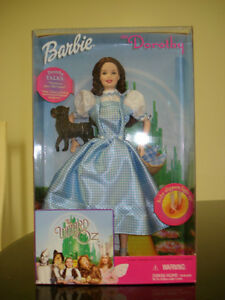 BARBIE WIZARD OF OZ TALKING DOROTHY W/TOTO NBRFB 1999