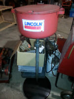Tall Lincoln Oil Collector with tray FOR SALE
