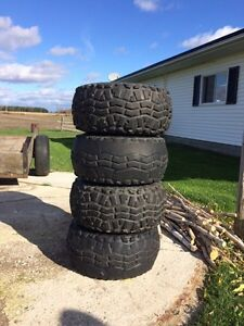 4 used tires and rims Cornwall Ontario image 1