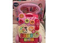 Vtech baby walker in pink