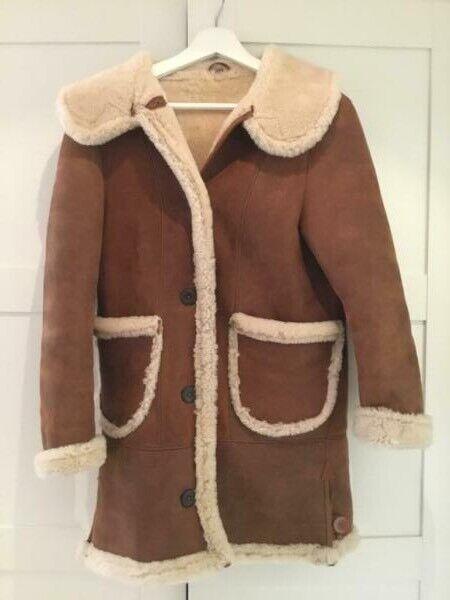 21a9da31cf Real Sheepskin coat. Shearling coat. Size S. Perfect condition.   in ...