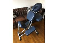 Professional Massage / Therapists Chair - portable and foldable