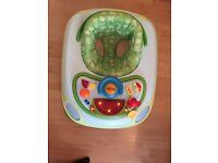 Chicco baby walker with sound