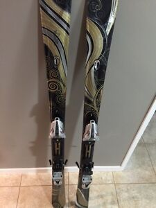 K2 One Luv Women's Skis 156cm, MOD 10.0 Bindings $250