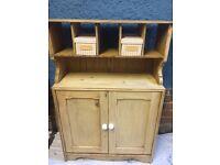 Solid Oak rare Cupboard / unit