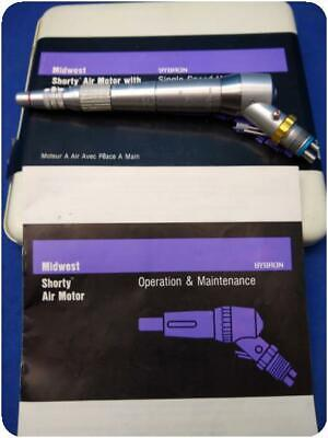 Midwest Shorty Air Motor W Straight Attachment Dental Handpiece 231571