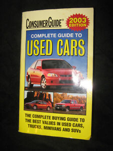 2003 Consumer Guide To Used Cars