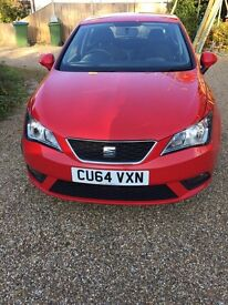 2014 (64 plate) Seat Ibiza Toca 1.4, 16v 5dr for sale