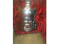 60s/70s Kay SG electric guitar