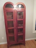 Beautiful Handcrafted Display Cabinet