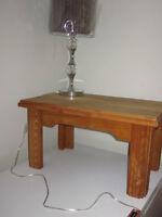 table de salon ou de chevet vintage