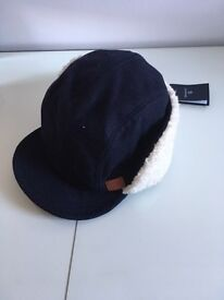 Gant Hat with optional ear warmers