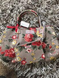 Cath kids Tom embossed winter rose bag brand new