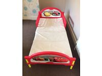 Disney Cars Cosytime Toddler Bed including Foam Mattress