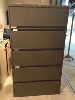 Large Locking Filing Cabinet
