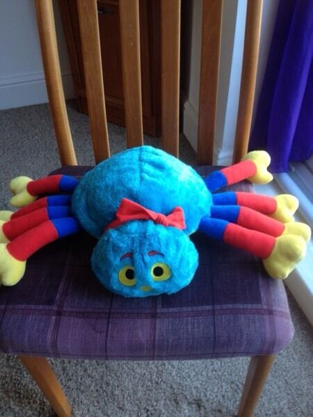 Wooley the spider