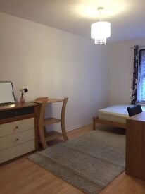 The nice room from surrey quays station
