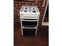 Beko double oven gas cooker £100