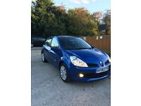 Renault Clio 1.2 full service cheap tax and insurance