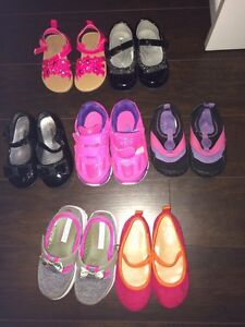 Toddler girl shoes size 5-7, $15 or best offer