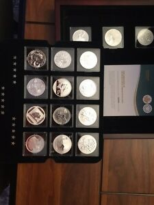 Royal Canadian Mint Fabulous 15 of 2014 coin set Strathcona County Edmonton Area image 4