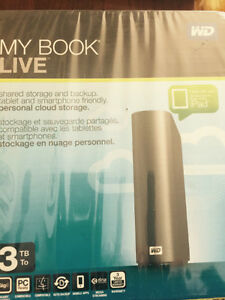 3TB disk drive Personal Cloud / NAS drive New In Box