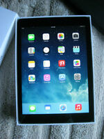 iPad Air (one) 16GB Wifi model Space Gray color w/ Logitech case