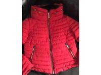 Ladies or girls Zara puffa jacket coat size xl