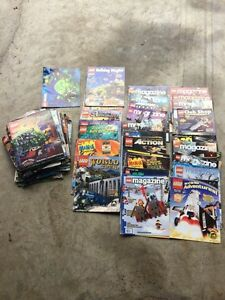 Lego magazines lots and lots