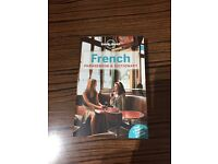 French book and dictionary
