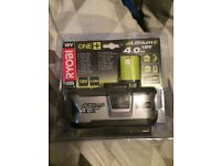 Ryobi 18V lithium+ battery