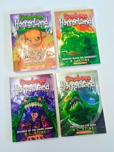 GOOSEBUMPS BOOKS X4 PAPERBACK (UNREAD!)
