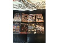 Collection of boxing/UFC DVDs