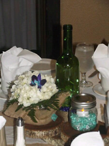 Mason Jars Great for center pieces or decor for you event