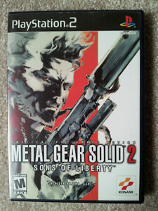 Metal Gear Solid 2: Sons of Liberty / PS2 / MINT DISC