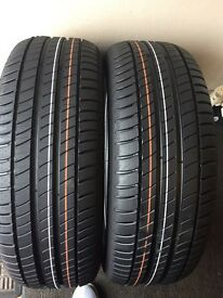 215/55/17 X2 michelin primacy3 brand new