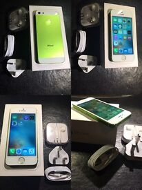 IPHONE 5 Green colour 16gb Mint condition 😀👍 on vodafone (txt Chris 07462496929)