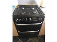 Gas cooker and fridge