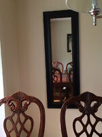 Black tall mirror for SALE