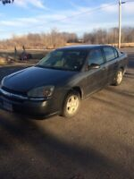 2005 chevy Malibu $1500 firm