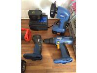 Power craft grinder drill torch