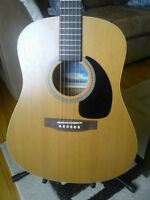 Seagull S6 slim acoustic guitar