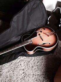 Hofner jazz guitar