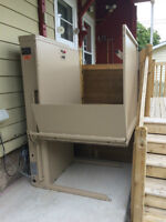 Bruno Vertical Wheelchair Lift $5000 OBO