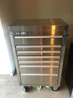 Husky 7 drawer Tool Cabinet ( stainless steel )