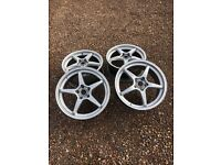 O.Z Racing Alloys Mint Condition 5x114.2