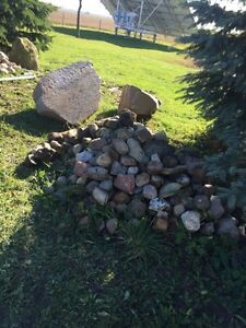 Huge pile of rocks.  Windsor Region Ontario image 1