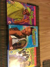 Fresh Prince of Bel Air DVD box set series 1,2 and 3