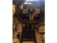 Logitech g29 with shifter *new*